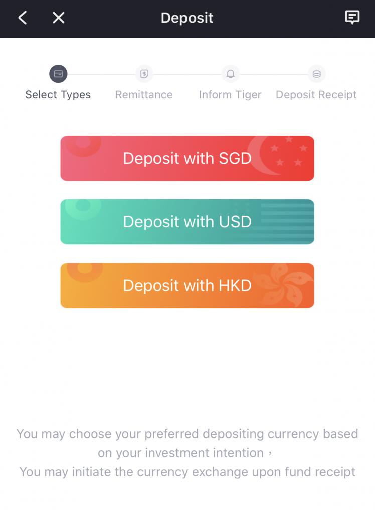 Tiger Brokers Deposit Funds 2