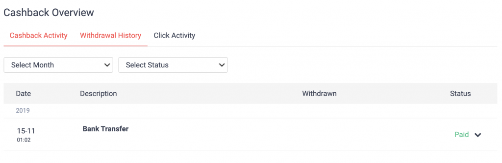 ShopBack Withdraw To Bank Account