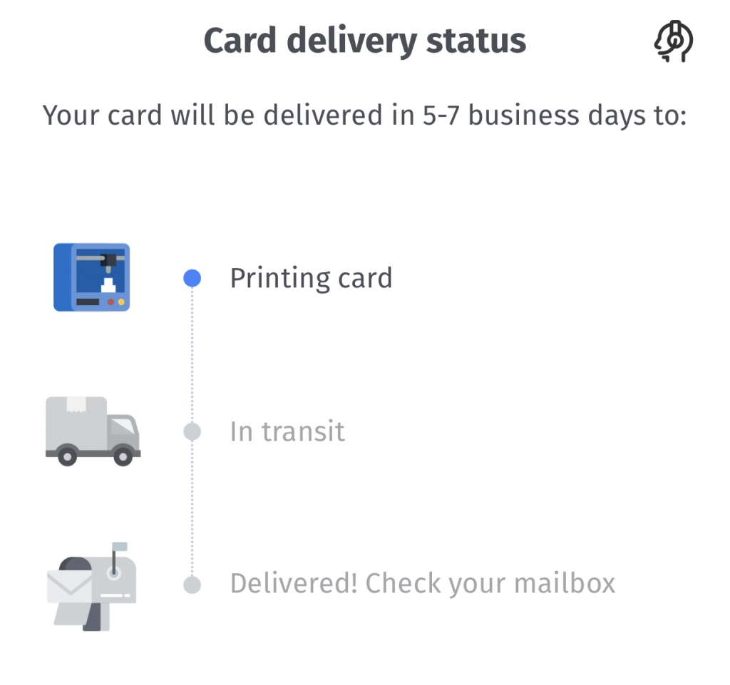 BigPay Card Delivery