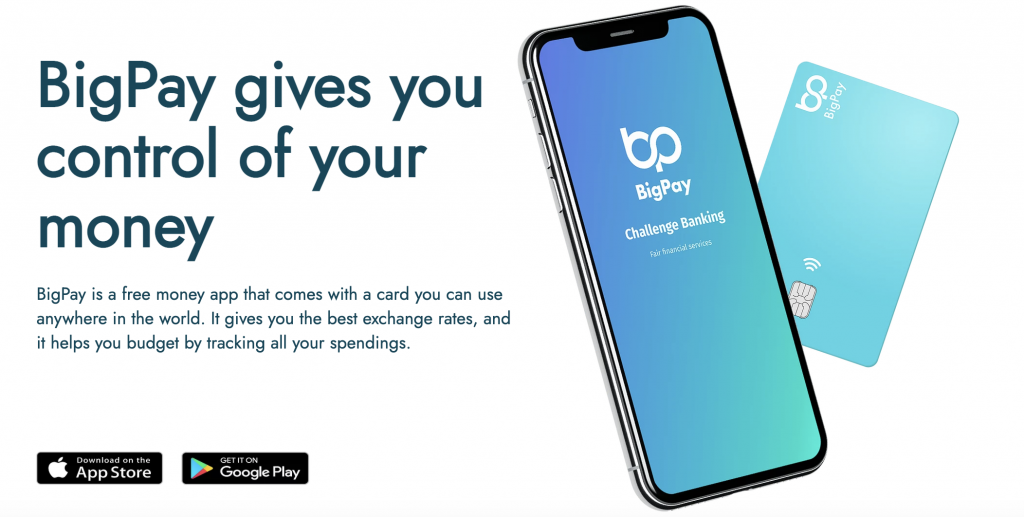BigPay Main Selling Point