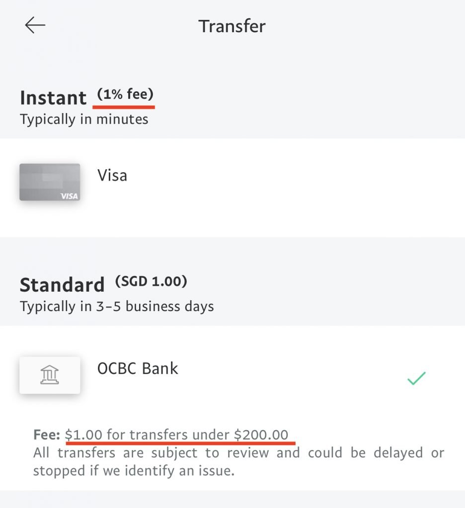 PayPal Fees For Singapore