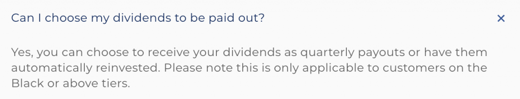 Syfe REIT Dividend Payout
