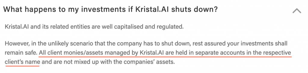 Kristal AI Account In Your Own Name