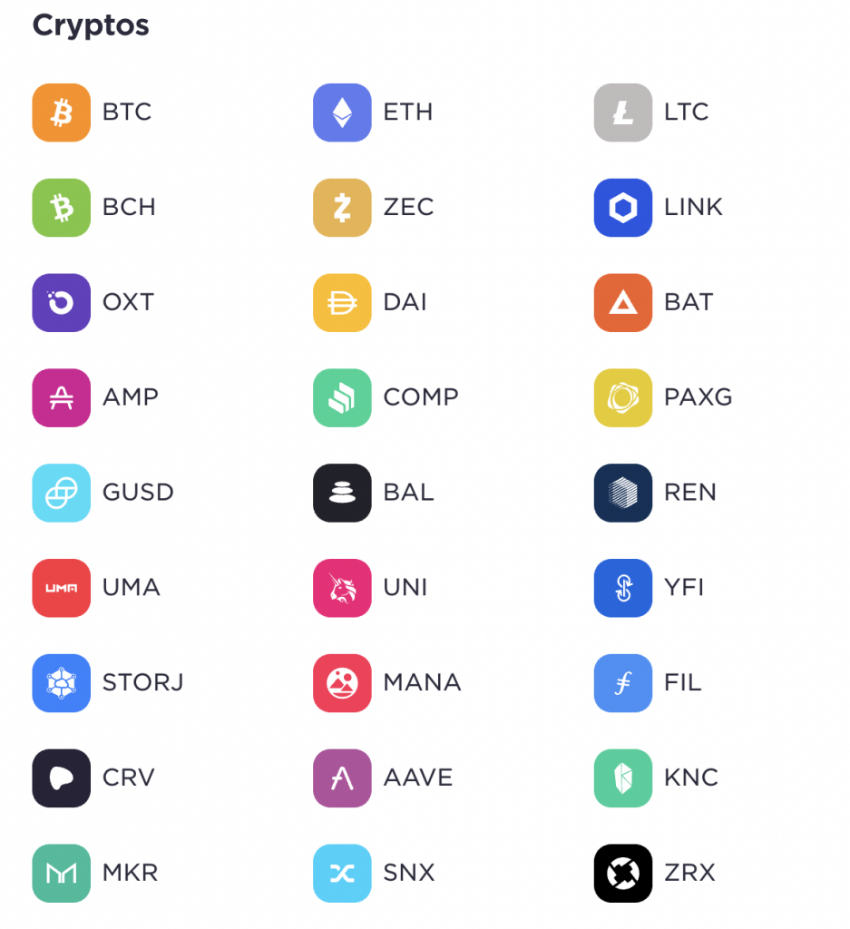 Gemini Available Currency