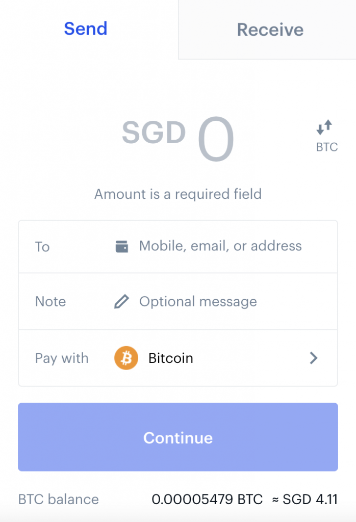 Coinbase Enter Amount To Withdraw