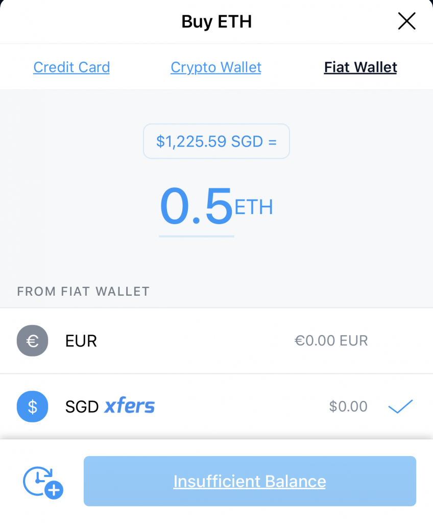 Crypto.com Buy Ethereum From Xfers