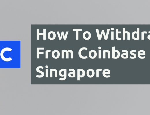 How To Withdraw From Coinbase Singapore