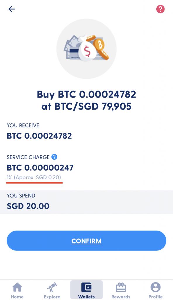 Luno Buy BTC Fees Instant