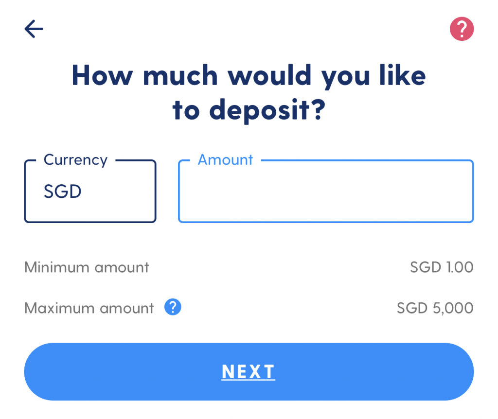 Luno Deposit SGD From Xfers