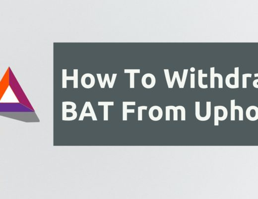 How To Withdraw BAT From Uphold