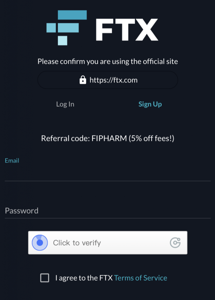FTX Referral Trading Fee Discount