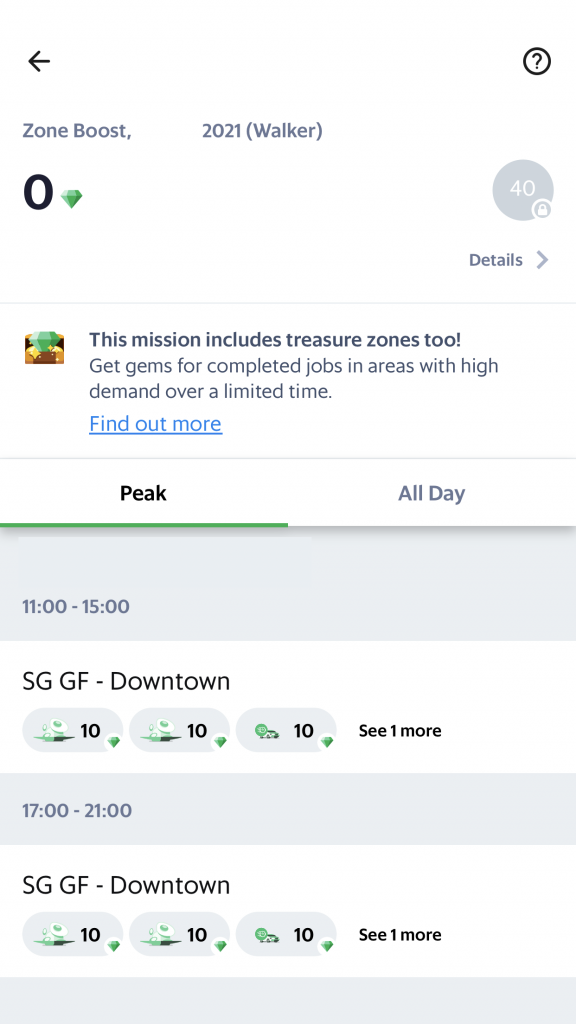 GrabFodd Walker Zone Boosts