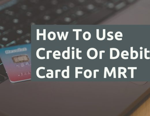 How To Use Credit Or Debit Card For MRT