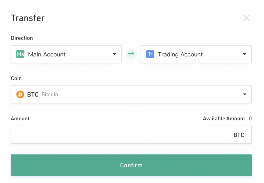 KuCoin Transfer From Main Account To Trading Account