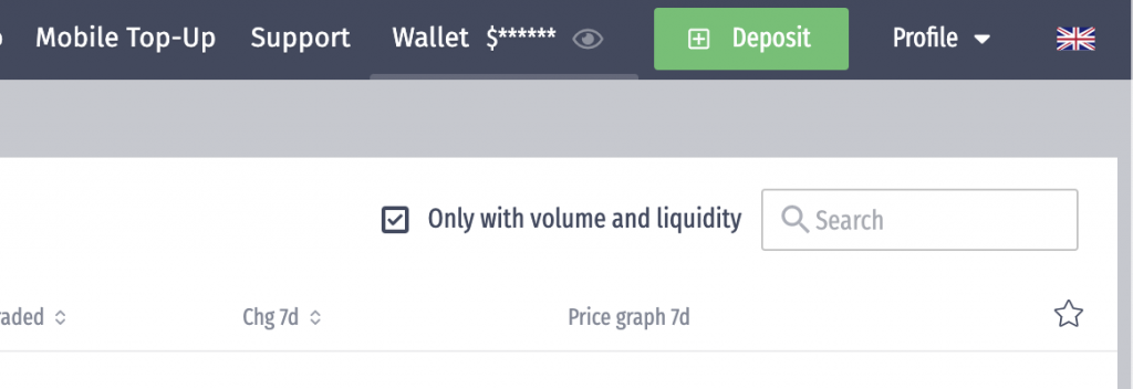 LATOKEN Select Deposit