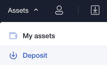 OKEx Assets Deposit