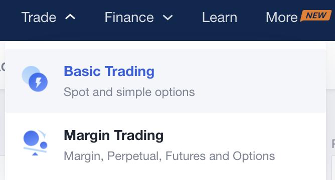 OKEx Select Basic Trading