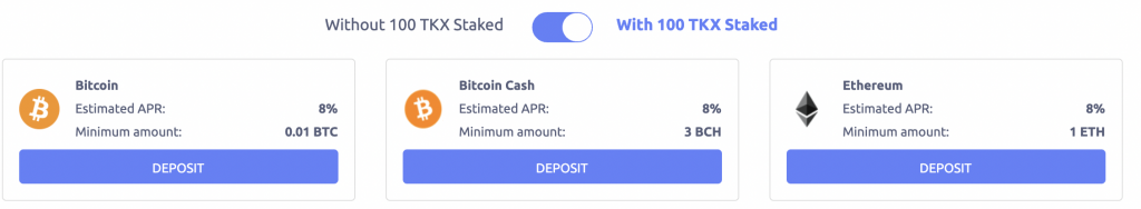 Tokenize Earn More With TKX Staked