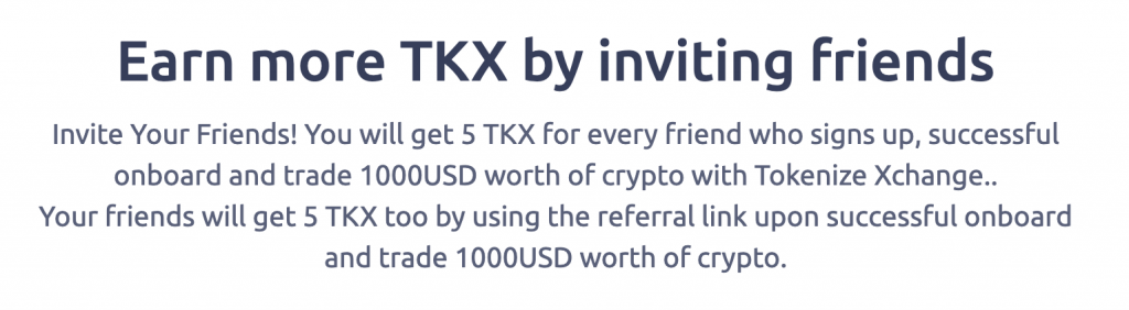 Tokenize Referral May 2021