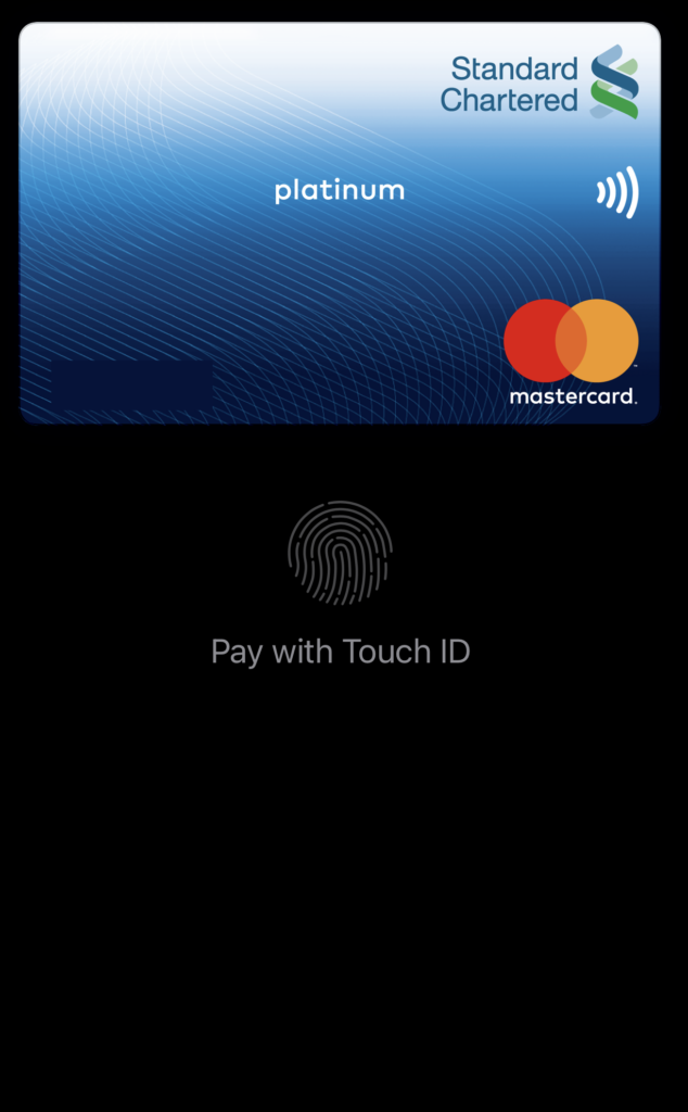 Apple Pay Touch ID Page