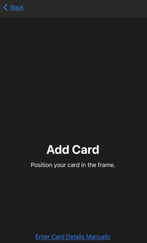 Apple Wallet Add Credit Card Automatically or Manually