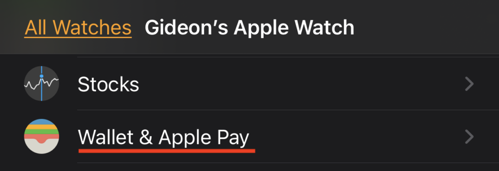 Apple Watch Go To Wallet And Apple Pay