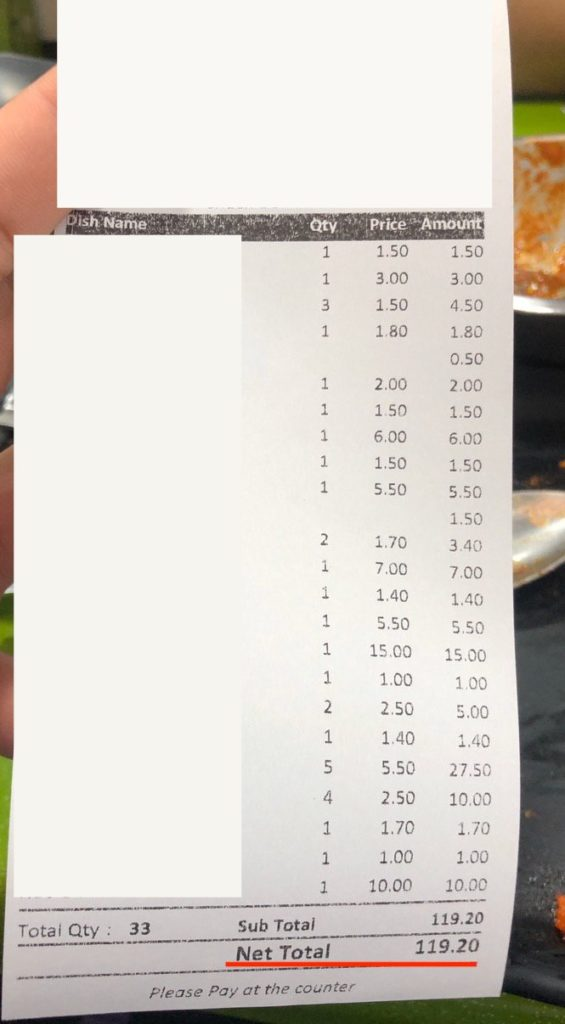 GST and Service Charge Nett Price