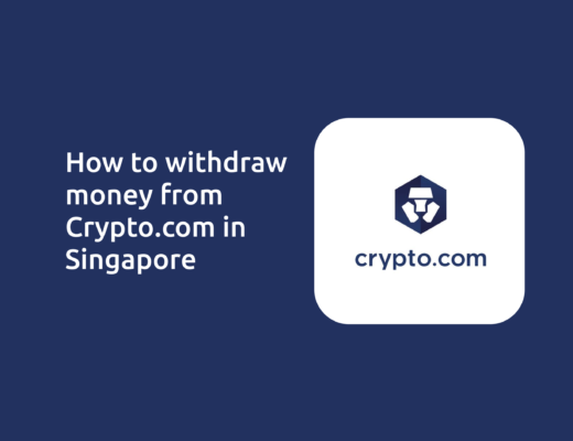 How To Withdraw From Crypto.com Singapore