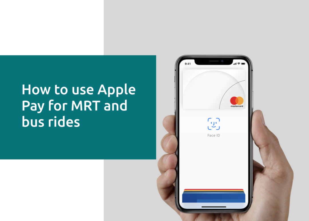 How to use Apple Pay for MRT and Bus Rides