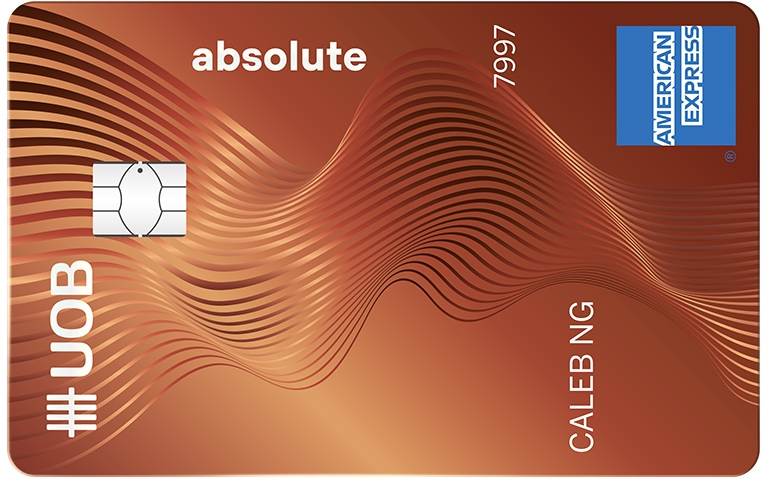 uob absolute cashbacl card