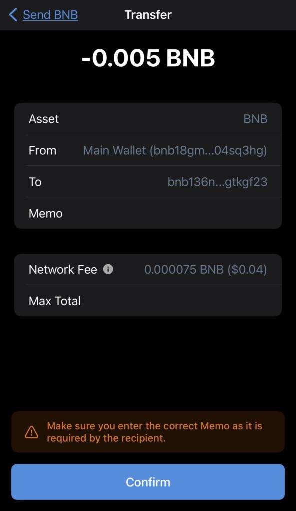 Trust Wallet View Transaction Details