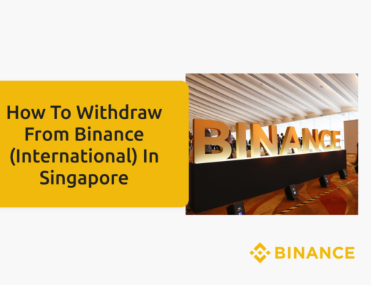 Withdrawing From Binance In Singapore